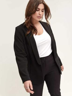 Black Shawl Collar Blazer