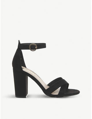 Office Holborn cross-strap heeled sandals