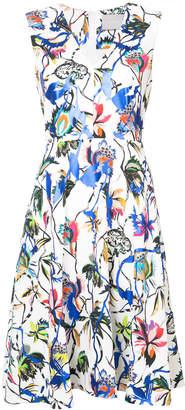 Jason Wu V-neck floral dress