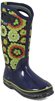 Bogs Classic Pansies Waterproof Insulated Boot
