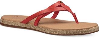 Ugg Annice Flip-Flop Sandals $70 thestylecure.com