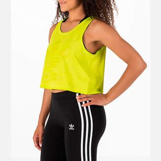 adidas Women's Tie Dye Crop Tank