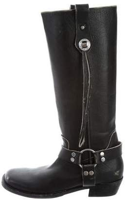 Balenciaga Leather Riding Boots w/ Tags