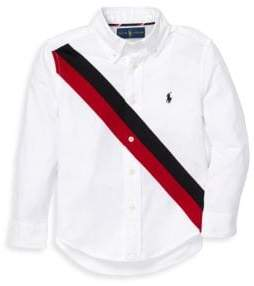 Ralph Lauren Boy's Performance Oxford Shirt