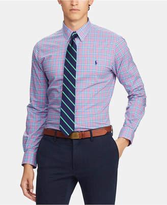 Polo Ralph Lauren Men Slim Fit Plaid Shirt