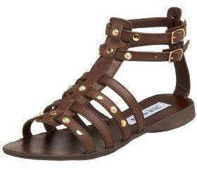 Steve Madden Women's Charrger Studded Gladiator Sandal