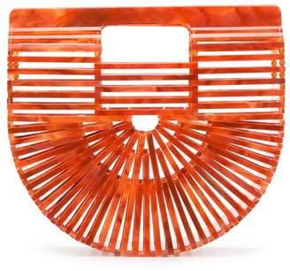 Cult Gaia Acrylic Ark Mini clutch bag