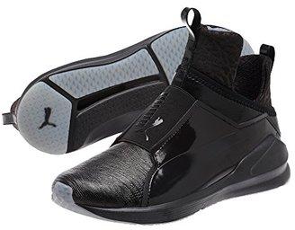 PUMA Women's Fierce Metallic Cross-Trainer Shoe $100 thestylecure.com
