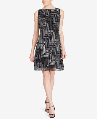 American Living Printed Georgette Dress $79 thestylecure.com
