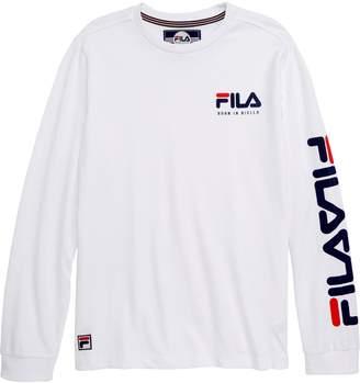 Fila Origins Graphic Long Sleeve T-Shirt