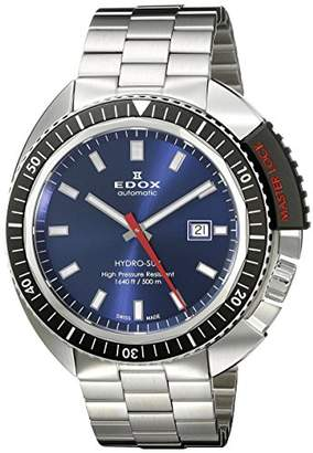 Edox Men's 80301 3NM BUIN Hydro Sub Analog Display Swiss Automatic Silver Watch