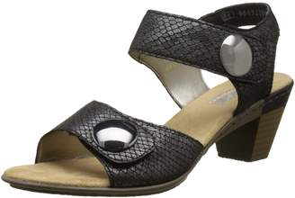 Rieker 67369-45 Sandals Dark Granite EU39 Dark Granite
