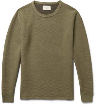 Folk Slim-Fit Knitted Cotton-Blend T-Shirt