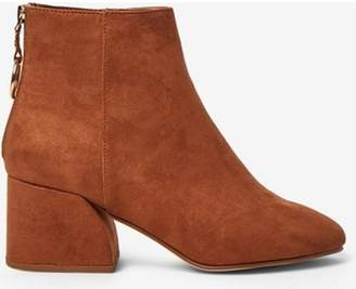 Dorothy Perkins Womens Wide Fit Tan 'Adore' Boots