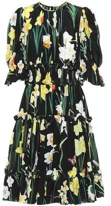 Dolce & Gabbana Silk crêpe de chine dress