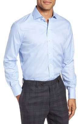 Ledbury Easley Classic Fit Houndstooth Dress Shirt