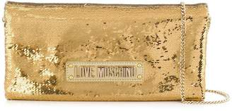 Love Moschino sequinned shoulder bag