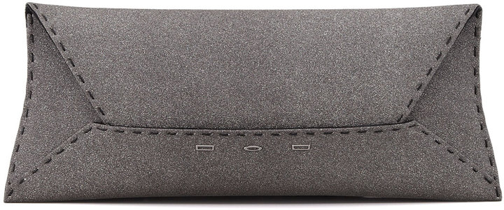 VBH Manila Stretch Sparkle Clutch Bag, Gray