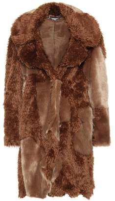 Stella McCartney Sugar Cane faux fur coat