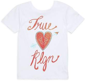 True Religion Little Girl's True HS Cotton Tee
