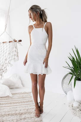 Two Sisters Shona Dress White
