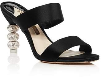 Sophia Webster Women's Rosalind Crystal 85 High-Heel Slide Sandals