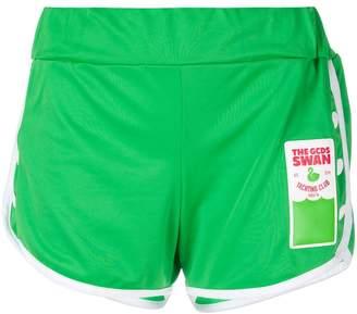 Gcds contrast trim running shorts