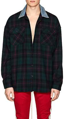 Fear Of God Men's Plaid Wool Flannel Oversized Shirt