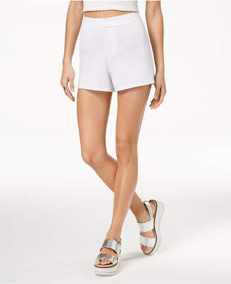 The Edit By Seventeen Juniors' Solid High-Waist Shorts, Created for Macy's