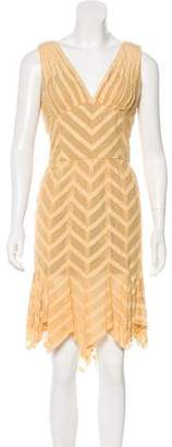 Zac Posen Sleeveless Silk Dress