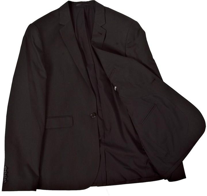 Asos Slim Fit Suit Jacket in Black