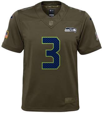 Nike Russell Wilson Seattle Seahawks Salute To Service Jersey, Big Boys (8-20)