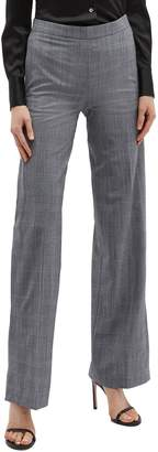 Neil Barrett Split cuff houndstooth check plaid suiting pants