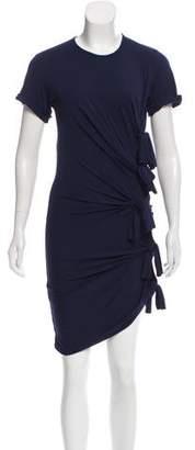 Gryphon Short Sleeve Knee-Length Dress