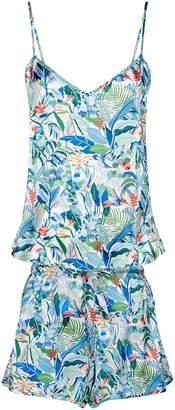 Derek Rose Brindisi Jungle Pyjama Set
