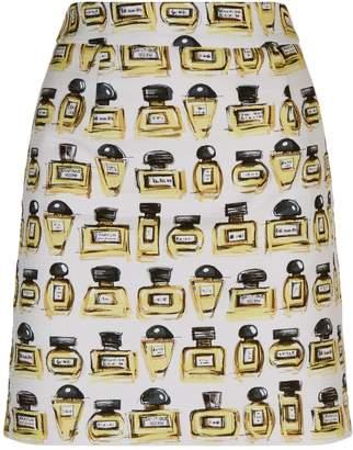 Moschino Perfume Bottle Mini Skirt