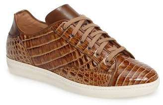 Mezlan Hickman Genuine Crocodile Sneaker