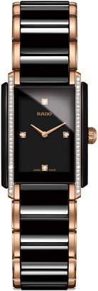 Rado Integral Diamond Ceramic Bracelet Watch, 22mm x 33mm