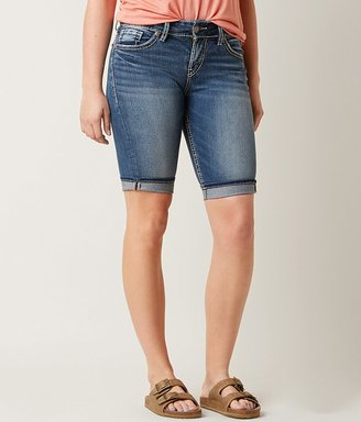 Silver Suki Bermuda Stretch Short $69 thestylecure.com