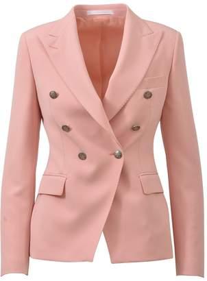 Tagliatore Double-breasted Blazer Pink