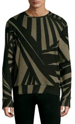 Twenty Knit Pullover Army Sweater