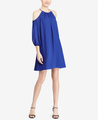 American Living Cold-Shoulder Dress $79 thestylecure.com