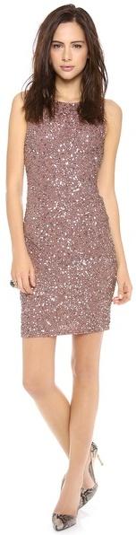 Alice + Olivia Kimber Embelilshed Fitted Dress