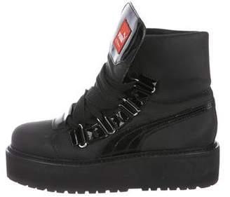 FENTY PUMA by Rihanna Platform Wedge Ankle Boots