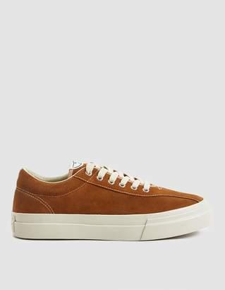 S.W.C. Dellow Suede Sneaker in Tan