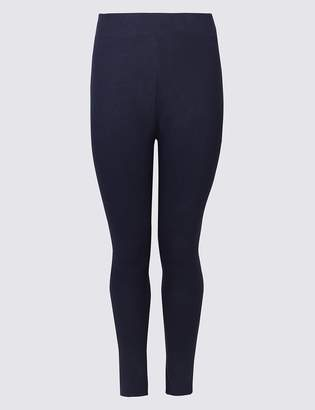 M&S CollectionMarks and Spencer CURVE Cotton Rich Leggings