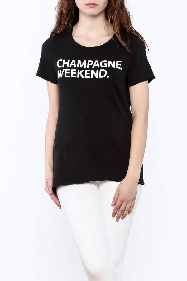 Chaser Chaser Champagne Weekend Tee