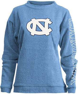 Pressbox Women North Carolina Tar Heels Comfy Terry Sweatshirt