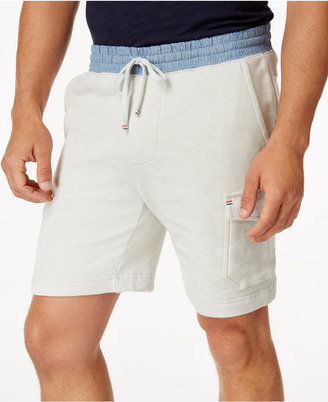 "Tommy Hilfiger Men's 7"" Point Break Drawstring Cargo Shorts $69.50 thestylecure.com"