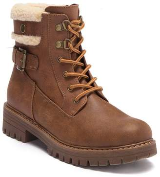 White Mountain Meldon Fleece Lined Ankle Boot